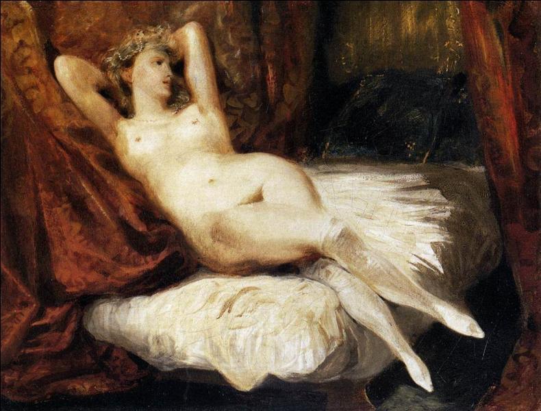 """Cet artiste a peint """"La femme aux bas blancs"""", mais il est plus connu pour sa toile """"La liberté guidant le peuple"""", de qui s'agit-il ?"""