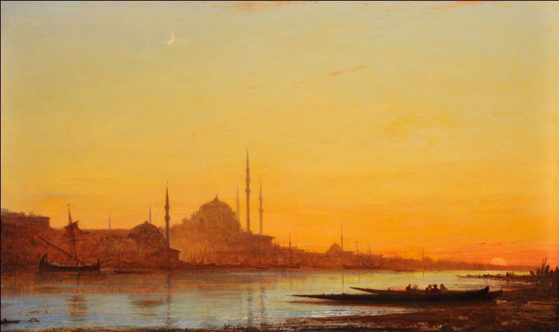 Qui a peint Felouque sur le Nil ?