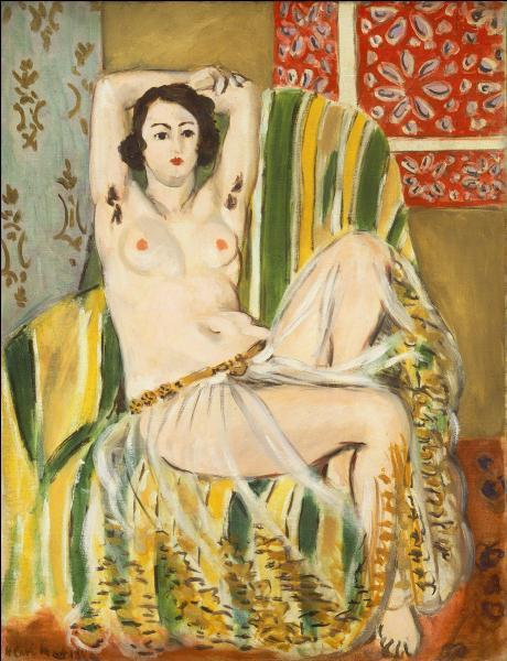 Qui a peint Odalisque au fauteuil ?