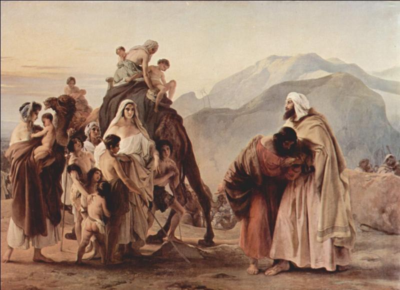 Qui a peint Jacob et Esau ?
