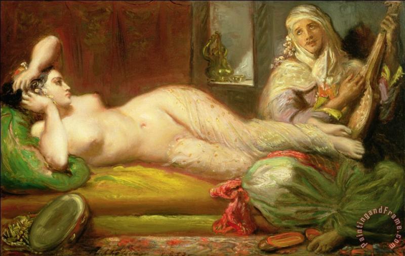 Qui a peint Odalisque ?