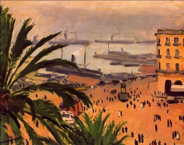 Qui a peint Place du Gouvernement Alger ?