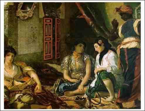 Qui a peint Les femmes algériennes ?