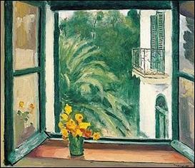Qui a peint La fenêtre à Alger ?