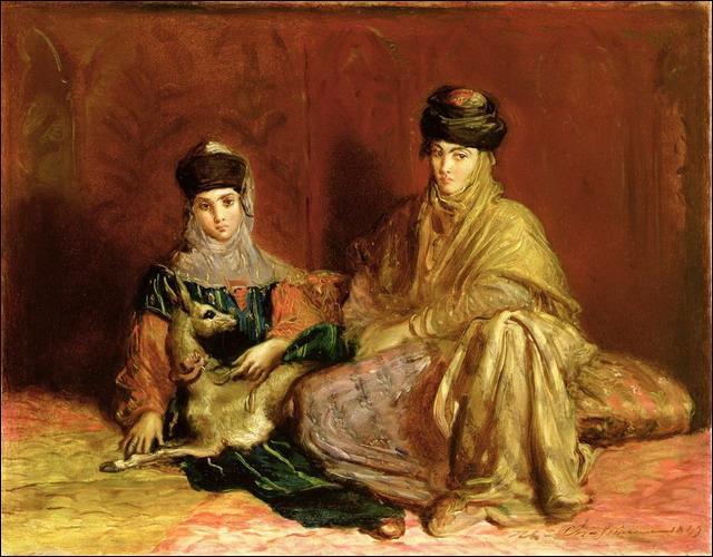 Qui a peint Femme et petite fille de Constantine ?