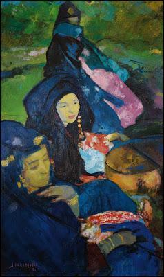 Qui a peint Les danseuses de Guedra ?