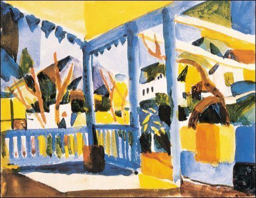 Qui a peint Terasse de Saint Germain à Tunis ?