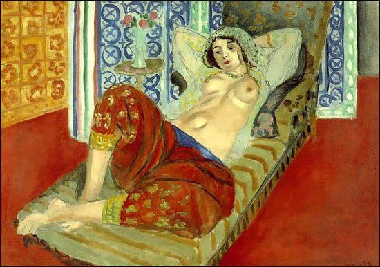Qui a peint Odalisque en culotte rouge ?
