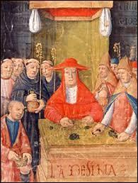 Les paysans devaient offrir un dixième de leur récolte à l'église catholique. Comment s'appelait cet impôt religieux destiné à la sauvegarde de leurs âmes ?