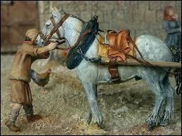 Des progrès dans l'attelage permettent d'augmenter la force de traction des boeufs et des chevaux de trait. Quelle est cette invention ?
