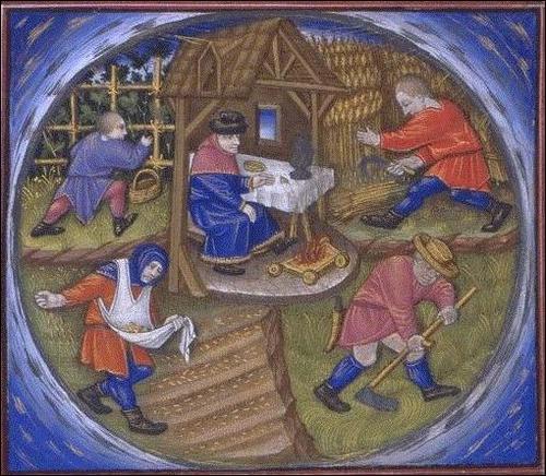 Quel était le nom de la redevance foncière due au seigneur propriétaire des terres ?