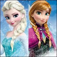 Leur histoire glacée a connu un immense succès ; ces deux jeunes filles se nomment :