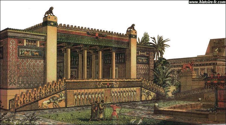 Les Perses vaincus, Alexandre prend possession de toutes les richesses de Darius III ; les prestigieuses cités de Babylone, de Suse ou de Persépolis sont à lui. Cependant, il est irrésistiblement attiré vers l'Orient et s'en va alors découvrir de nouvelles contrées. Avant cela, pour venger l'incendie d'Athènes, Alexandre brûle le palais de...