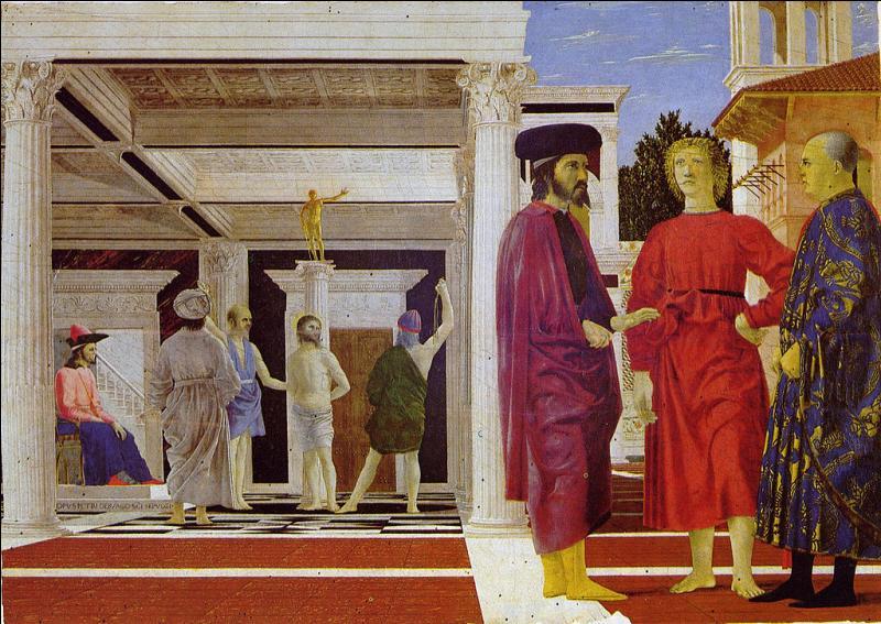 La Flagellation du Christ  (en italien : Flagellazione di Cristo) est une œuvre probablement réalisée vers 1455 par :