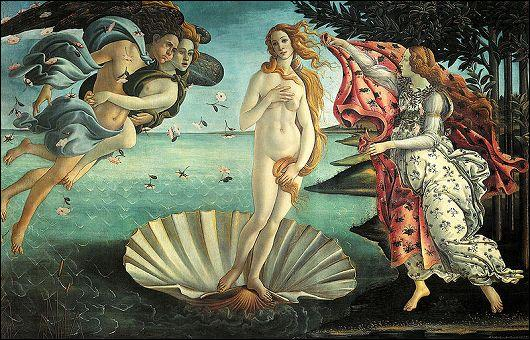 """""""La Naissance de Vénus"""" est un tableau majeur de la renaissance, mais qui est à l'origine de ce chef d'oeuvre ?"""
