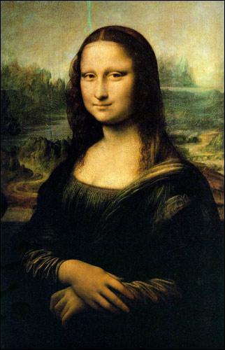 """Quelle technique est utilisée dans ce tableau intitulé """"La Joconde"""" de Léonard de Vinci ?"""