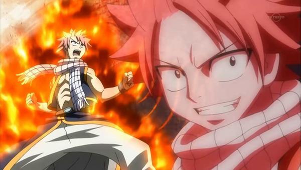 Fairy Tail - Les attaques de Natsu