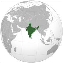 La capitale de ce pays asiatique est New Delhi. La plus grande ville de ce pays est Mumbai. La superficie est de 3, 3 millions de km2 pour une population qui dépasse le milliard d'habitants soit 1/7 de la population mondiale. C'est..
