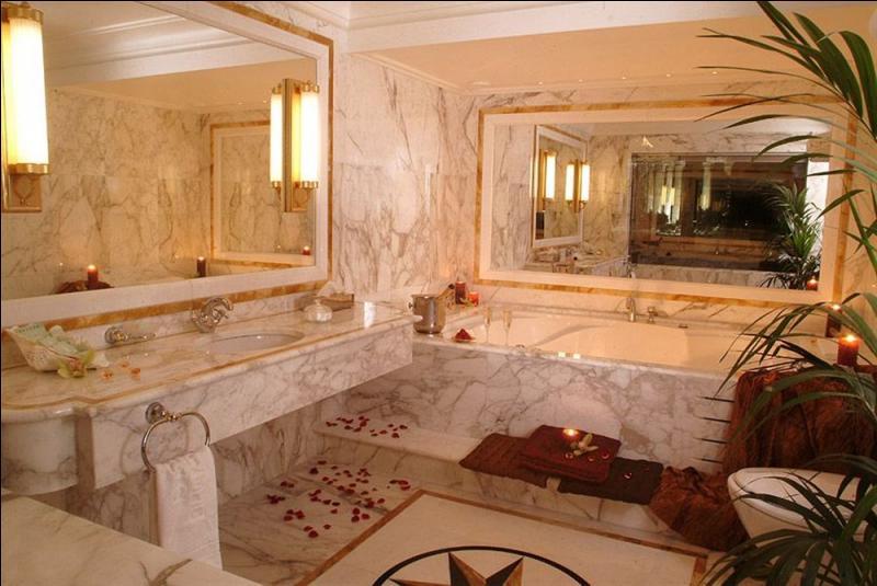 A quelle époque fut inventée la salle de bain, la photo ne vous donnera pas la réponse ?