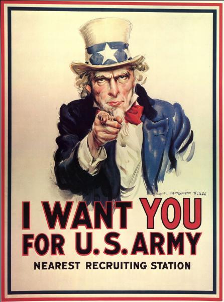 Quel président américain a servi de modèle au fameux  Uncle Sam  de nos amis d'Outre atlantique ?