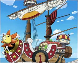Après le Vogue Merry, avec quel navire Luffy et sa bande voyagent-ils ?