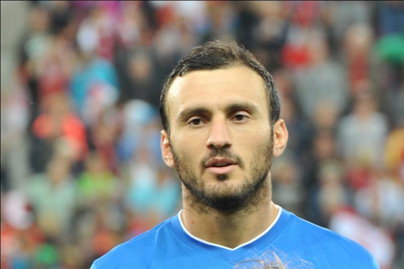 Comment se nomme cette star de l'équipe de la Grèce ?