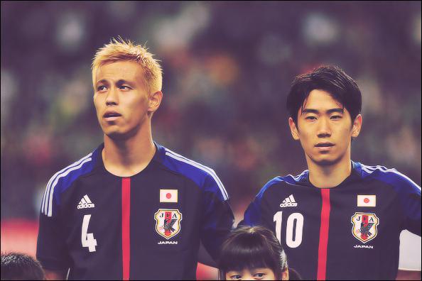 Comment se nomment ces deux stars de l'équipe japonaise ?