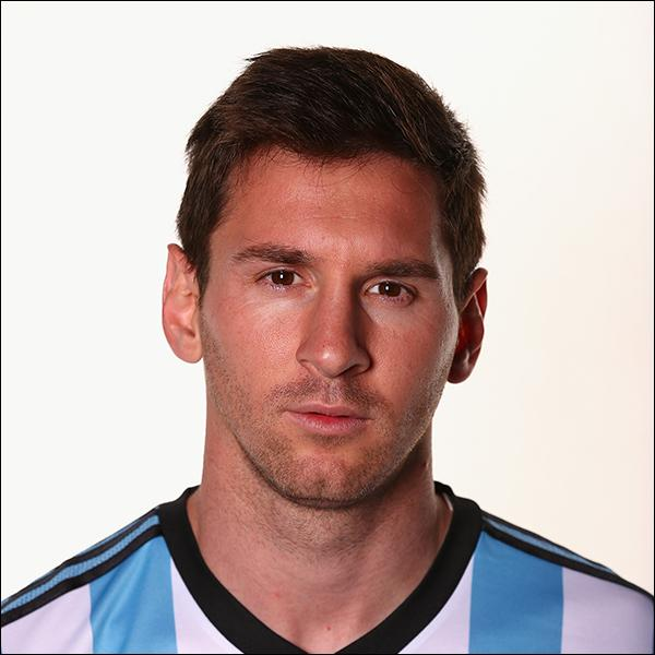 Comment se nomme cette star de l'équipe de l'Argentine ?