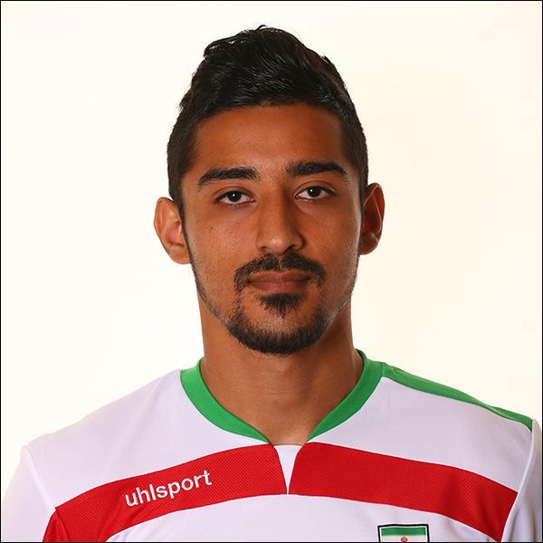 Comment se nomme cette star de l'équipe de l'Iran ?