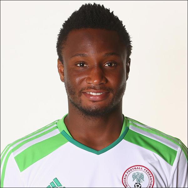 Comment se nomme cette star de l'équipe du Nigéria ?
