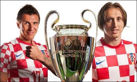 Comment se nomme ces stars de l'équipe de la Croatie ?