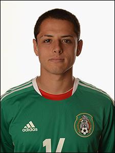 Comment se nomme cette star de l'équipe du Mexique ?