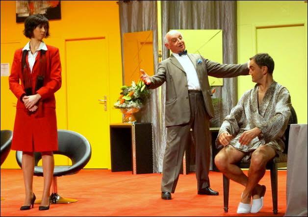 Confusion, pièce de théâtre, intrigue, italien.