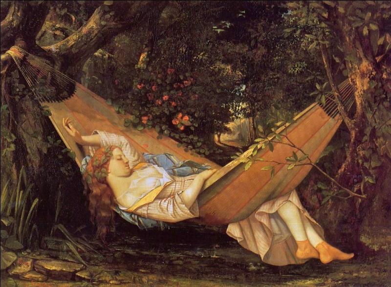Gustave Courbet Hamak