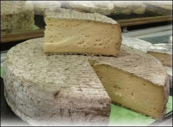 Auvergne, lait, doux, pâte pressée non cuite, chèvre ou vache.