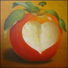 Comment dit-on  pomme  en anglais ?