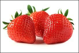 Comment dit-on  fraise  en anglais ?