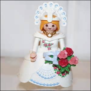 Les robes de mariée Playmobil sont-elles toujours blanches ?