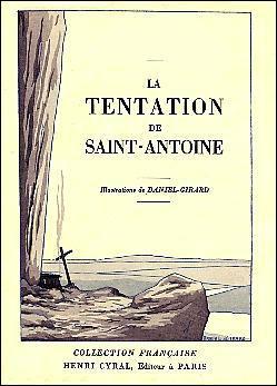 """A quel écrivain doit-on """"La tentation de Saint-Antoine ?"""