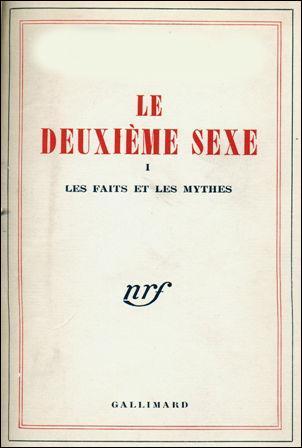 """Qui a écrit """"Le deuxième sexe ?"""
