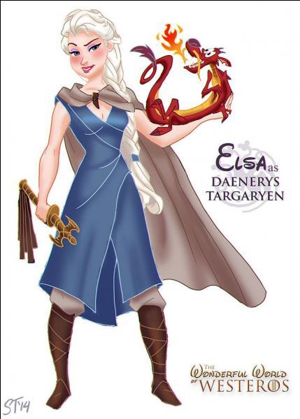 """Dans la série """"Game of Thrones"""", Daenerys Targaryen se promène avec des animaux un peu particuliers, qui sont-ils ?"""
