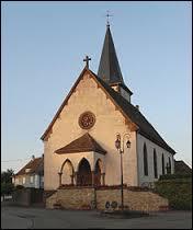 Nous partons maintenant en Alsace, à la découverte du village d'Ammerzwiller. Nous partons dans le département ...