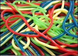 Bonbons multicolores, servant également d'activité pour les enfants. Ce sont les ... ?