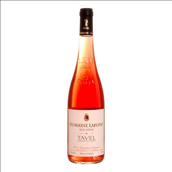 La photo s'agrandit en un clic : Le vin était un excellent rosé :