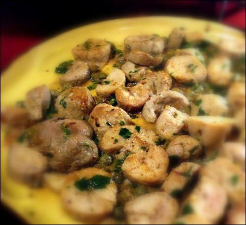 Voici un plat préparé au Xérès dont le nom poétique va vous ravir, ce sont des amourettes, mais encore ...
