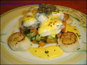 Les amateurs de poisson seront gâtés avec un plat de baudroie au safran, sous quel nom connaît-on également la baudroie ?