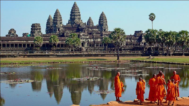 Cadeau suivant : un temple mondialement connu, dans un pays qui l'est beaucoup moins !