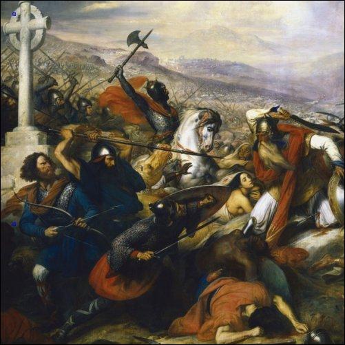 732 > Charles Martel arrête les Arabes à Poitiers. Qu'en pensez-vous ?