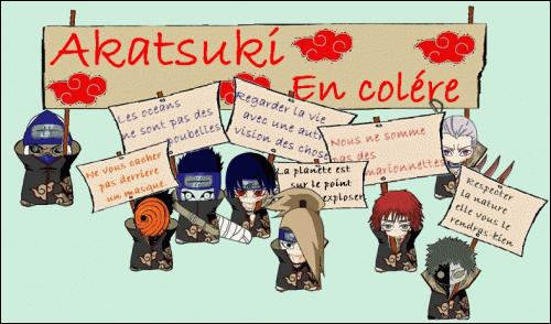 """L'Akatsuki est en grève 2 ! Qui rétorque """"Nous ne sommes pas des marionnettes"""" ?"""
