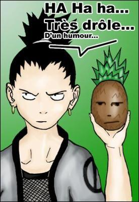 A quel fruit ressemble Shikamaru ?